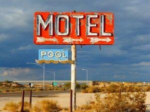 america perduta di bryson: motel