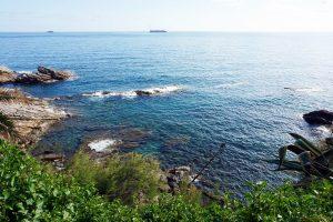 Il mare di Genova Nervi.