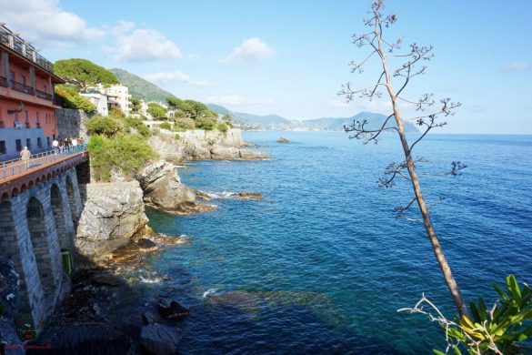 Cosa vedere a Genova Nervi: Passeggiata Anita Garibaldi.