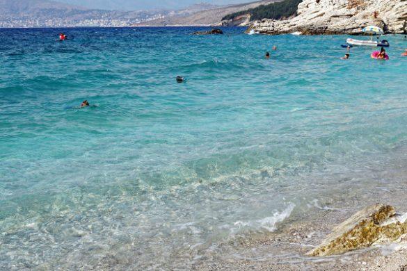 Saranda mare: pulebarda beach.
