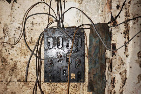 ex albergo diurno modena cavi elettrici
