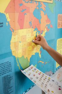 scratch map: idea regalo per chi ama viaggiare