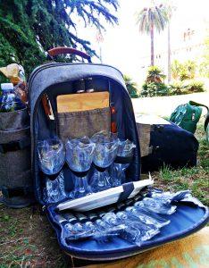 5 idee regalo per chi ama viaggiare: zaino picnic