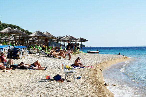 spiagge sivota grecia: agia paraskevi