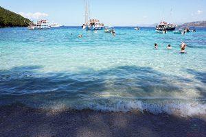spiagge sivota grecia: piscina