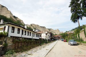 strada di melnik in bulgaria