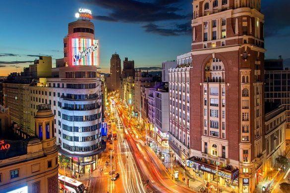 gran via a madrid, una delle mete economiche in europa