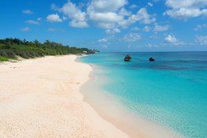 spiaggia di bermuda: una meta da sogno