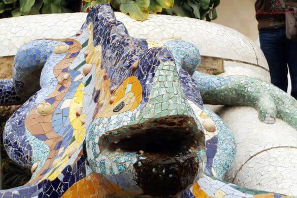 salamandra parc guell barcellona