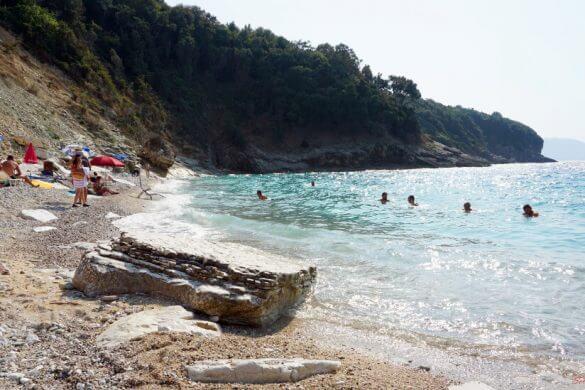 saranda mare: pulebardha beach