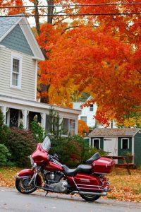 dove andare in vacanza in autunno: new england in moto