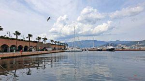 La Marina dell'Aeroporto, ottimo posto per un aperitivo sul mare a Genova.