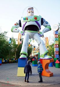Buzz Lightyear agli Studios di Disneyland