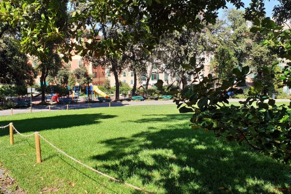 parchi di genova: villa croce
