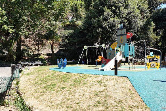 parco di villa rossi: area giochi
