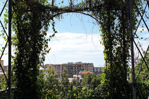parco di villa rossi: gazebo