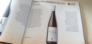 opuscolo gitana winery produttore di vino moldavo