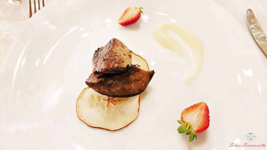 foie gras nella cantina purcari in moldavia