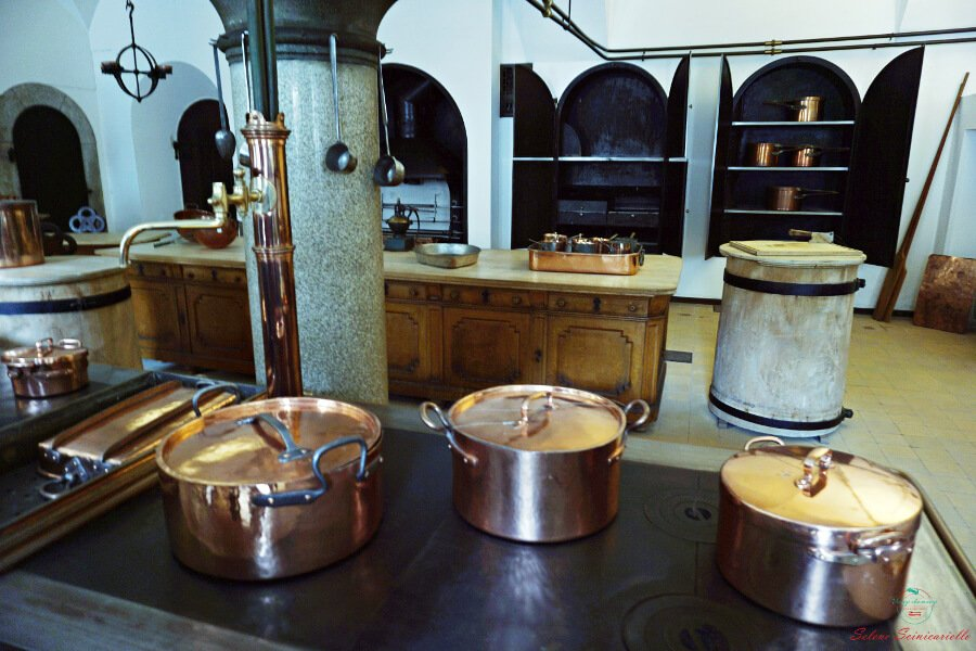 cucine del castello di Neuschwanstein