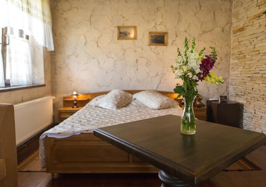 interno delle camere a chateau vartely