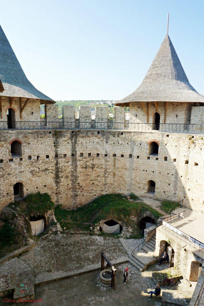 interno della fortezza di soroca