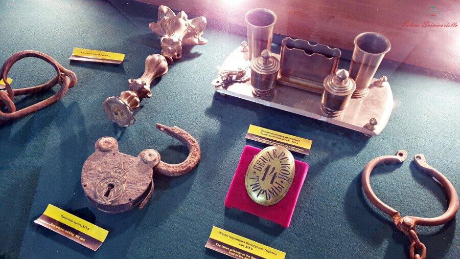 reperti del museo della fortezza tighina bender