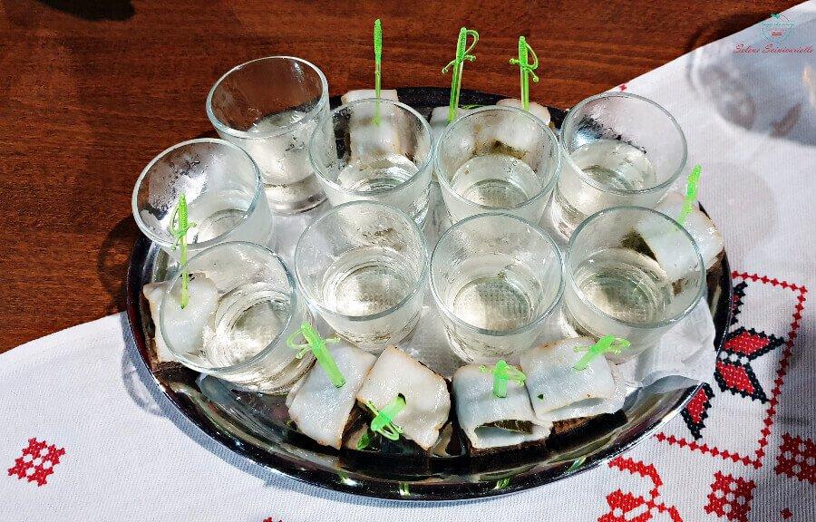 vodka al ristorante kumanek di tiraspol