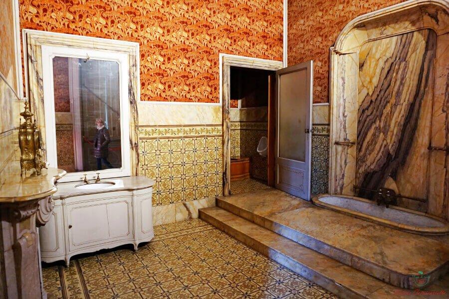 bagno di umberto I, villa reale di monza