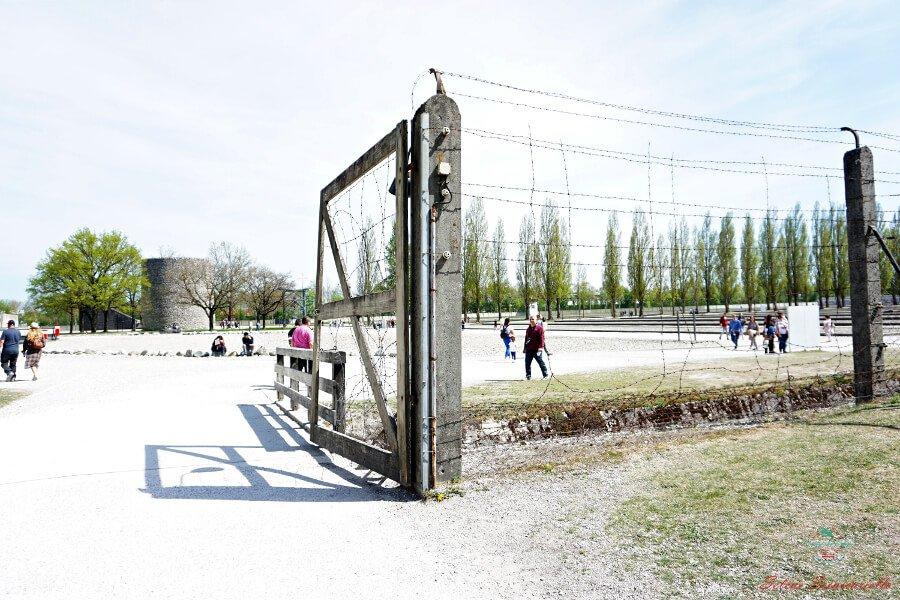 filo spinato campo di concentramento dachau