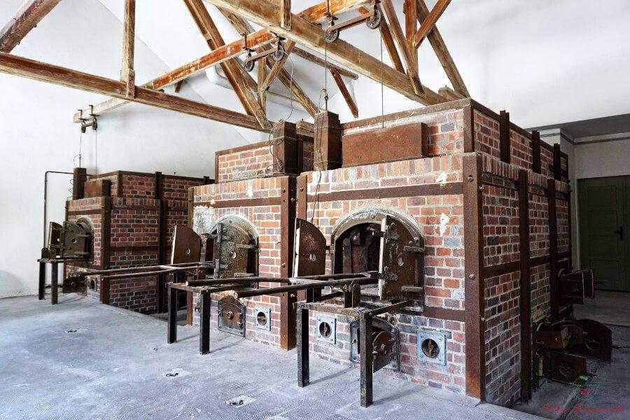 forni crematori, uno dei luoghi da visitare dachau