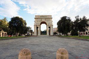 immagine di piazza della vittoria vicino a brignole, ottimo luogo dove dormire a genova