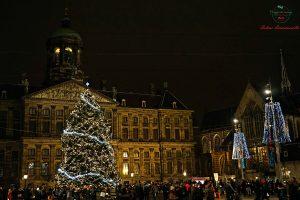 Piazza Dam a Natale.