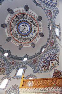 interno della moschea di sinan pasha