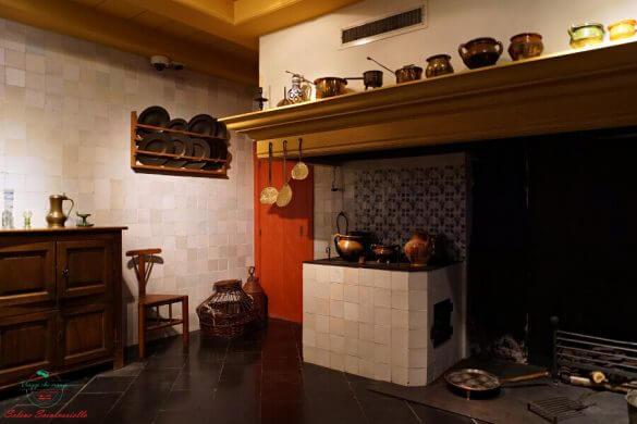 Cucina della Casa di Rembrandt, Amsterdam.