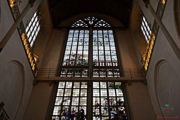 Vetrate, De Nieuwe Kerk, Amsterdam.