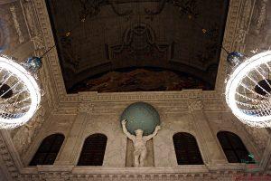 Atlante, Sala Civica del Palazzo Reale di Amsterdam.