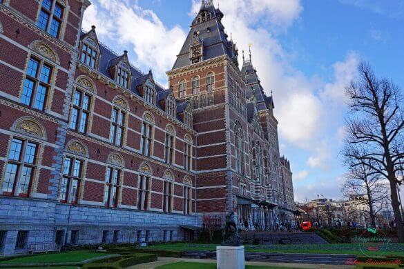 Esterno del Rijksmuseum, Amsterdam.