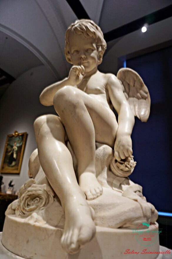Seated Cupid, Étienne-Maurice Falconet, Rijksmuseum, Amsterdam.