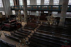 Sinagoga Portoghese di Amsterdam.