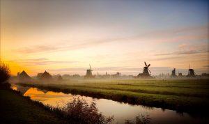 Zaanse Schans è una delle cose da vedere in olanda in inverno