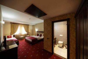 stanza dell'hotel kacinari di Prizren