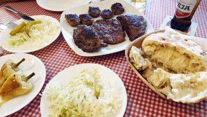carne alla griglia da Qebaptore Gjakova e vjeter di pristina