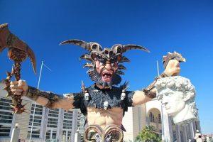 maschera del carnevale di viareggio