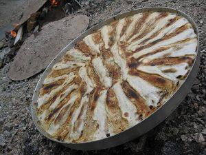 la flija è uno dei piatti tipici del kosovo. Violetamyftari [CC BY-SA (https://creativecommons.org/licenses/by-sa/3.0)]