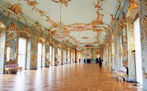 sala interna del castello di charlottenburg