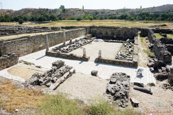 gli scavi di stobi