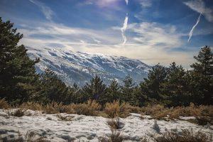 sierra nevada, luogo giusto dove sciare in spagna in inverno