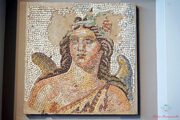 mosaico al museo archeologico di salonicco