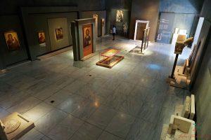 sala del museo bizantino di salonicco