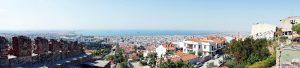 Panorama su Salonicco da Ano Poli.